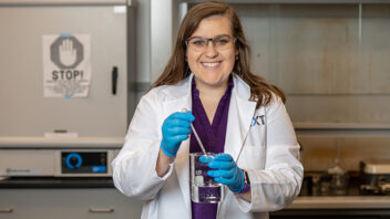 Love of chemistry, research combine to make NEXT Lab a perfect fit for ACU grad