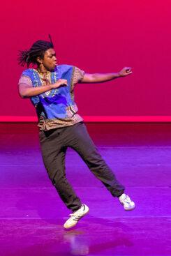 LJ Brodie dancing